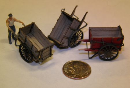 HO Scale (1:87) Ice Carts