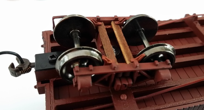 O Scale (1:48) Inside Brake Kit for On30 Bachmann Freight Cars with Archbar Trucks Eight Pack