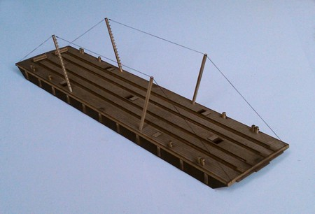 HO Scale (1:87) Transfer Barge